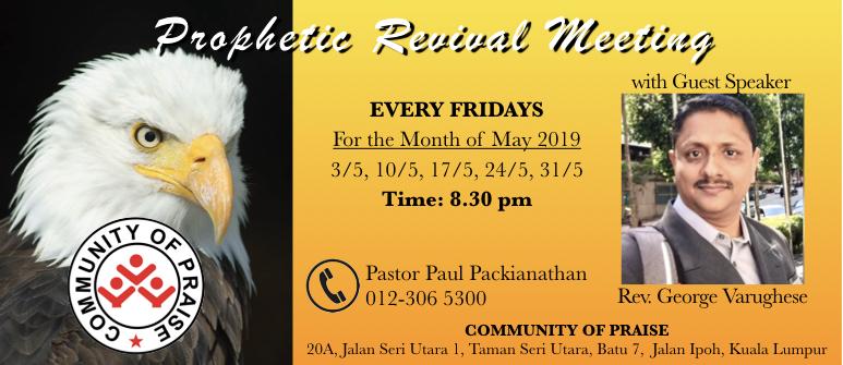 Ministry Community of Praise Kuala Lumpur-Week2